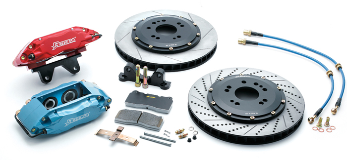 Rotora Big Brake Kit - 01 to 03 Protege