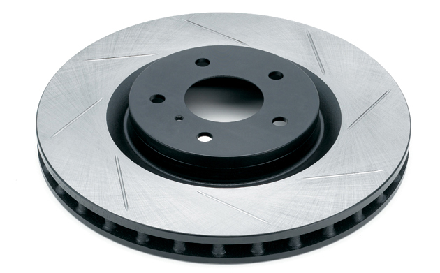 Rotora Rear Slotted Rotors - Mazdaspeed Protege